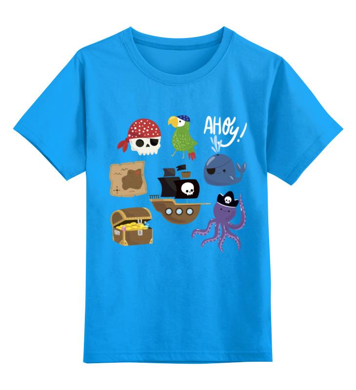 Детская футболка классическая унисекс Printio Пираты детская футболка классическая унисекс printio wildlife