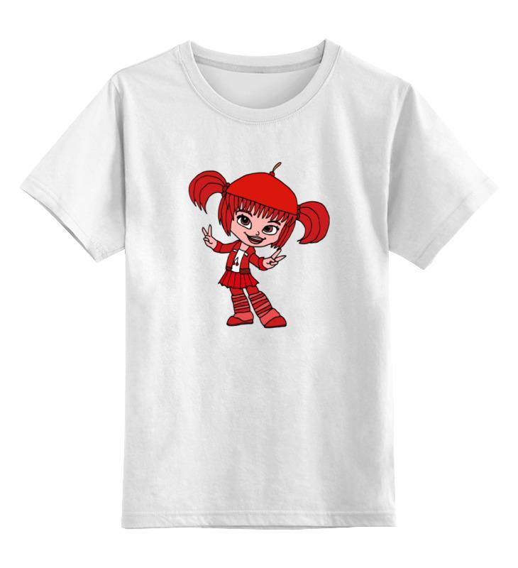 Детская футболка классическая унисекс Printio Дражелина бон-бон стоимость