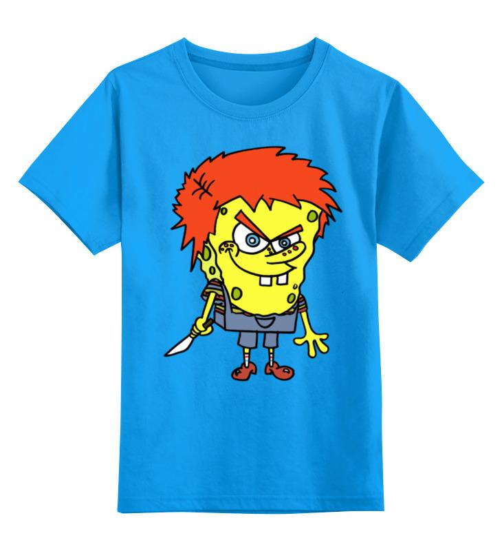 Детская футболка классическая унисекс Printio Chucky killer футболка классическая printio chucky killer