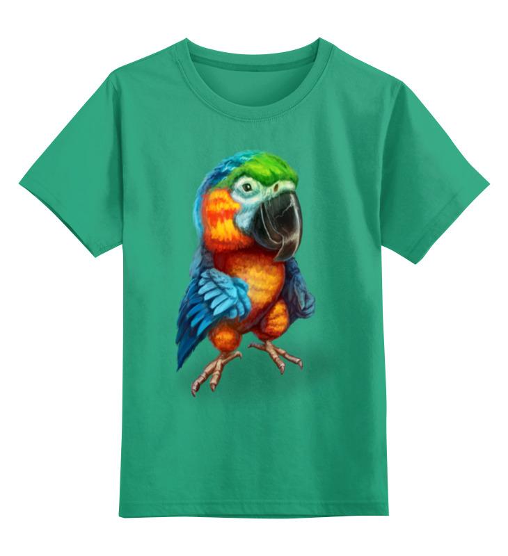 Детская футболка классическая унисекс Printio Милый попугай брелоки aztek брелок попугай