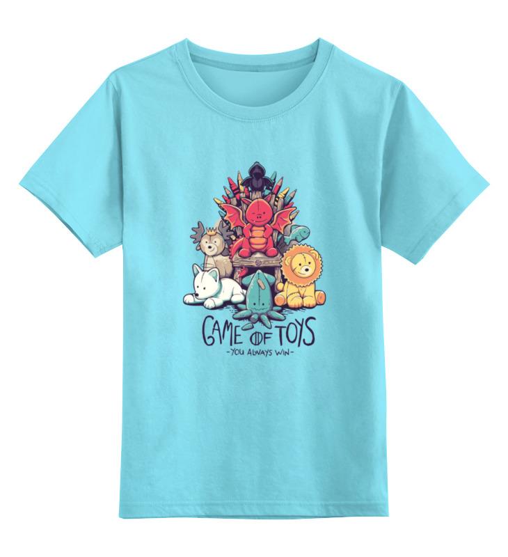 Детская футболка классическая унисекс Printio Game of toys футболка для беременных printio game of toys