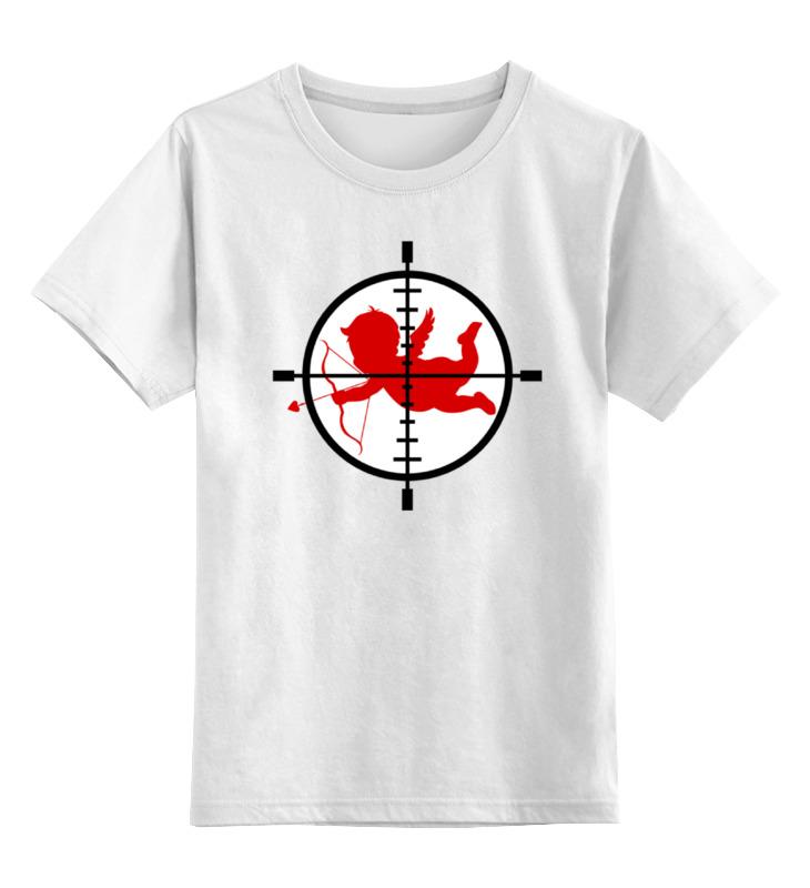 Детская футболка классическая унисекс Printio Купидон (валентин) футболка рингер printio купидон валентин