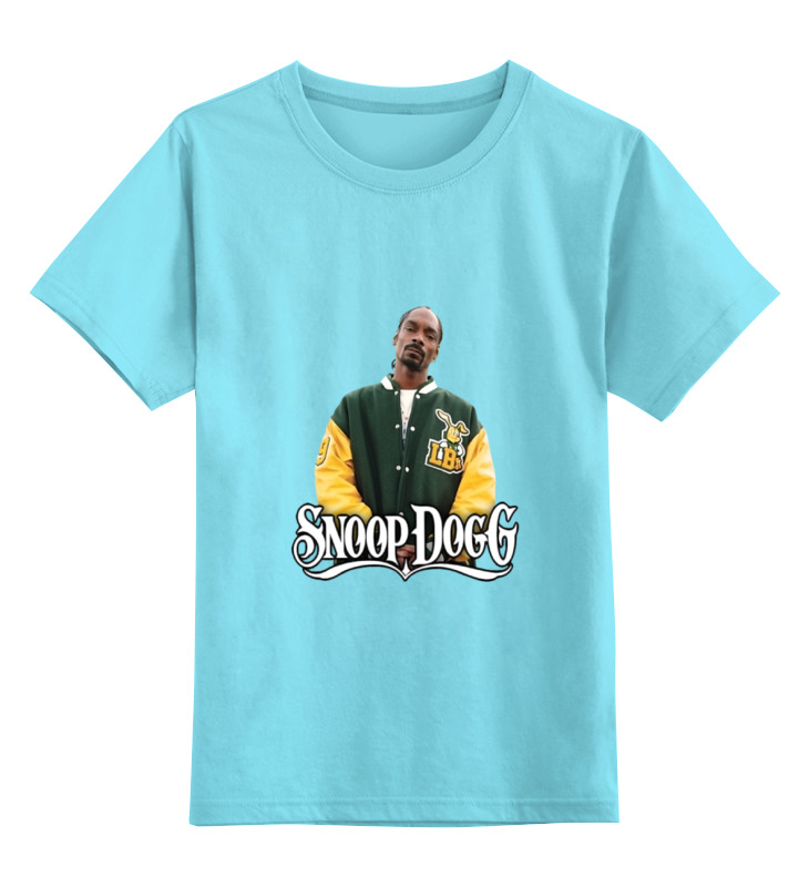 Детская футболка классическая унисекс Printio Snoop dogg брелок blue sky faux snoop dogg taobao pc006