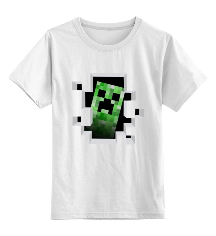 Детская футболка классическая унисекс Printio Creeper creeper leicester