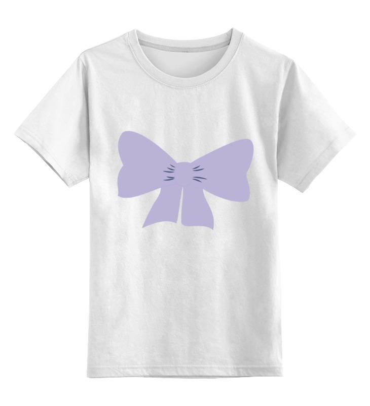 Детская футболка классическая унисекс Printio Сиреневый бант