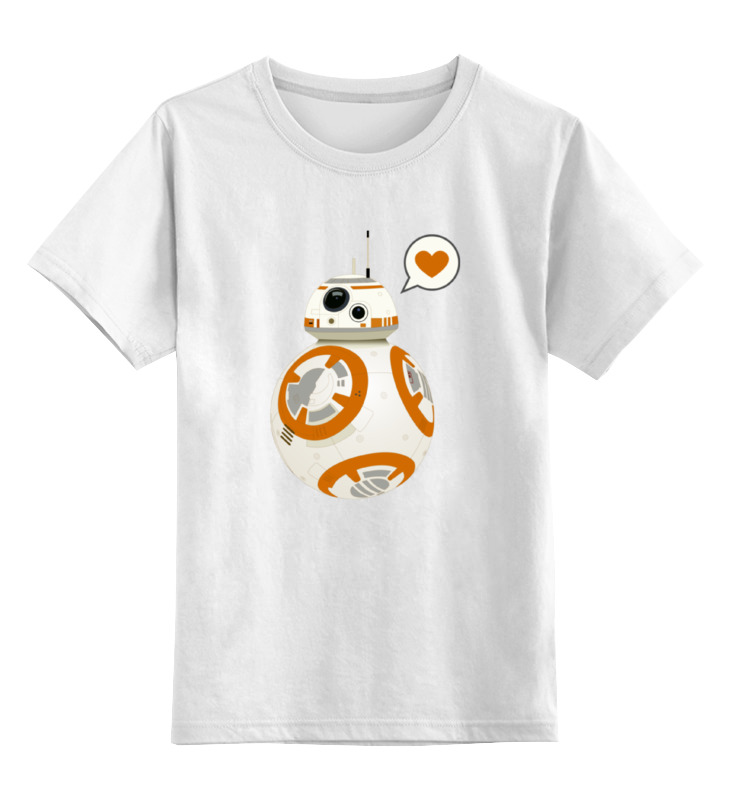 Детская футболка классическая унисекс Printio Sphero's star wars bb-8 droid new star wars battle droid troop carrier 565pcs clone war building blocks bricks action figures starwars toys 5stareddis