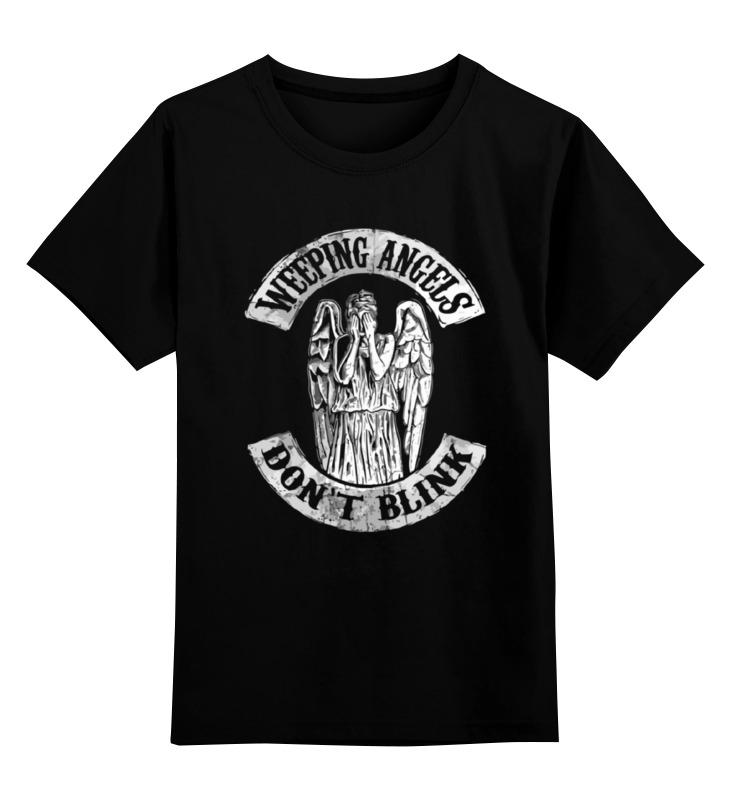 Детская футболка классическая унисекс Printio Weeping angels детская футболка классическая унисекс printio бегемот