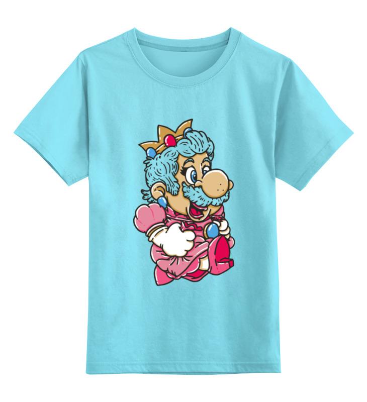 все цены на Детская футболка классическая унисекс Printio Mario (princess peach) онлайн