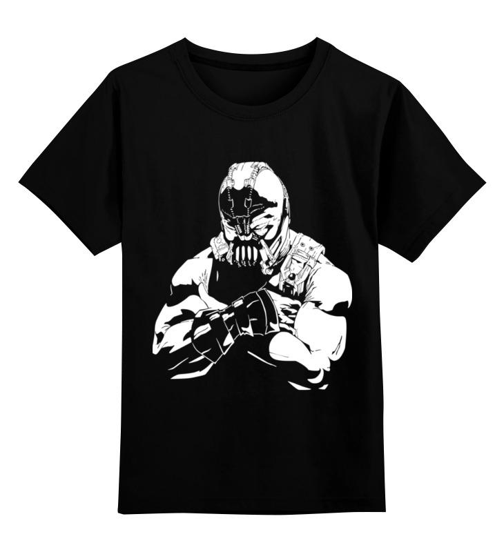 Детская футболка классическая унисекс Printio Bane - dark knight майка классическая printio bane dark knight