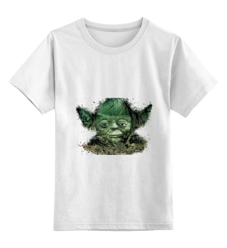 Детская футболка классическая унисекс Printio Путь йоды цена
