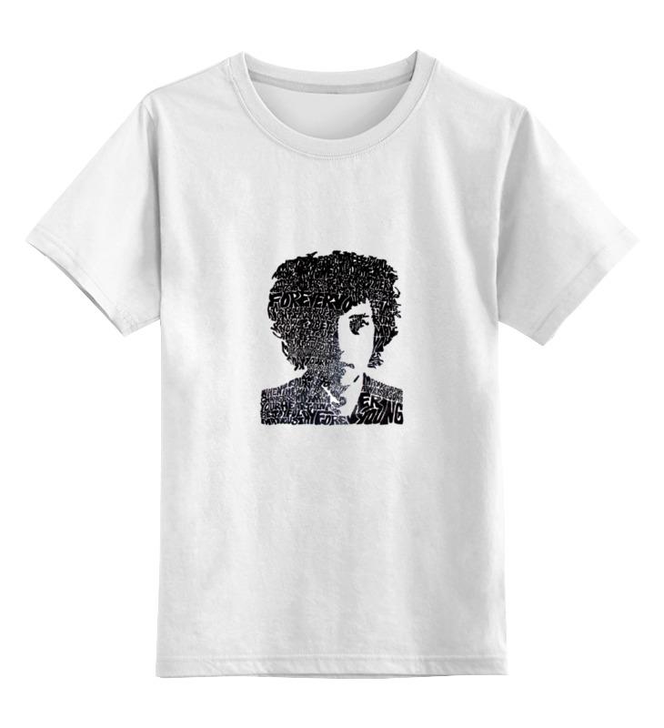 Детская футболка классическая унисекс Printio Dylan холст
