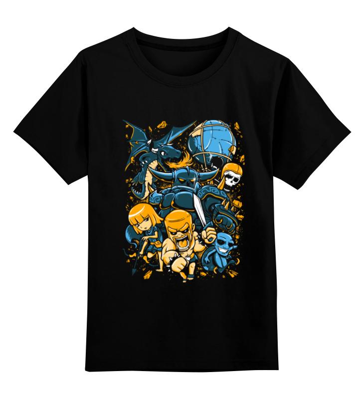 Фото - Детская футболка классическая унисекс Printio Clash of clans детская футболка классическая унисекс printio clash royale