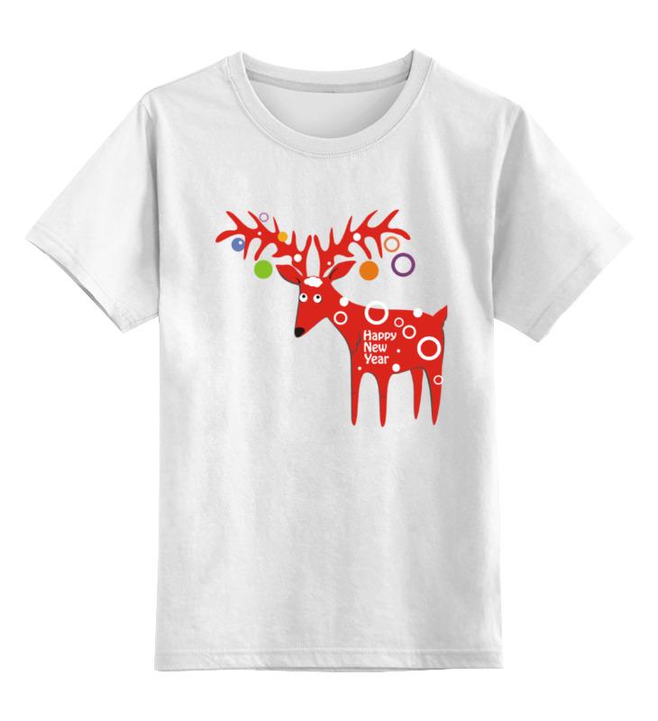 Детская футболка классическая унисекс Printio New year is coming! майка классическая printio new year is coming