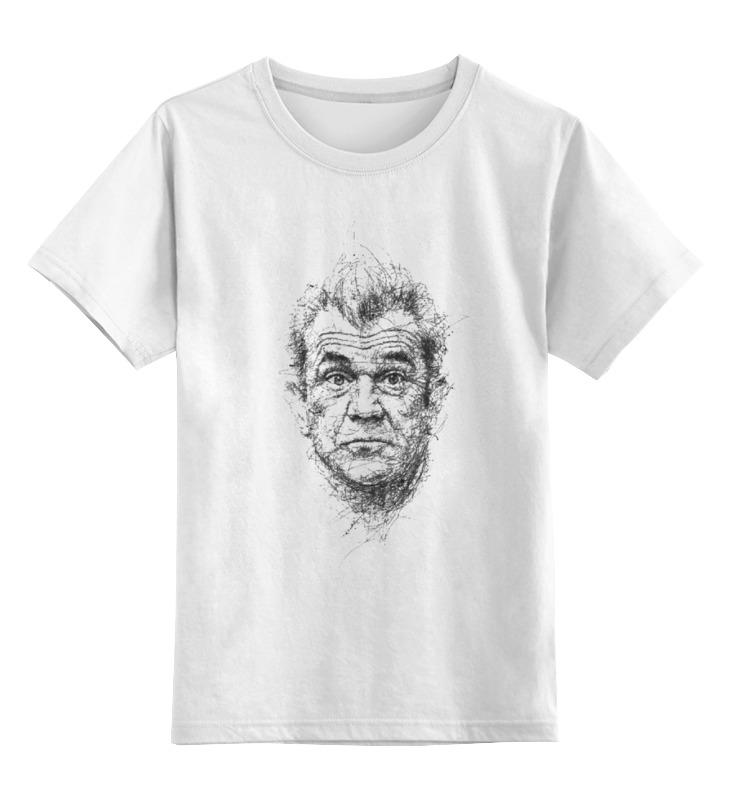 Детская футболка классическая унисекс Printio Мэл гибсон футболка с полной запечаткой для девочек printio мэл гибсон эйр америка