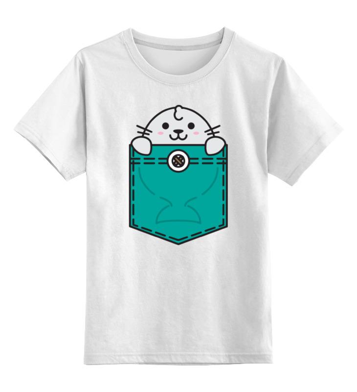 Детская футболка классическая унисекс Printio Тюлень lucques футболка