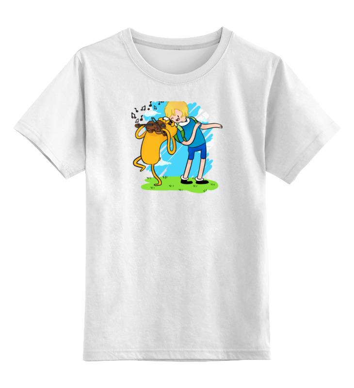 Детская футболка классическая унисекс Printio Время приключений детская футболка классическая унисекс printio детская время приключений