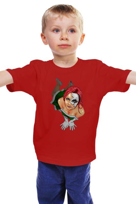 Детская футболка классическая унисекс Printio Девушка детская футболка классическая унисекс printio мачете