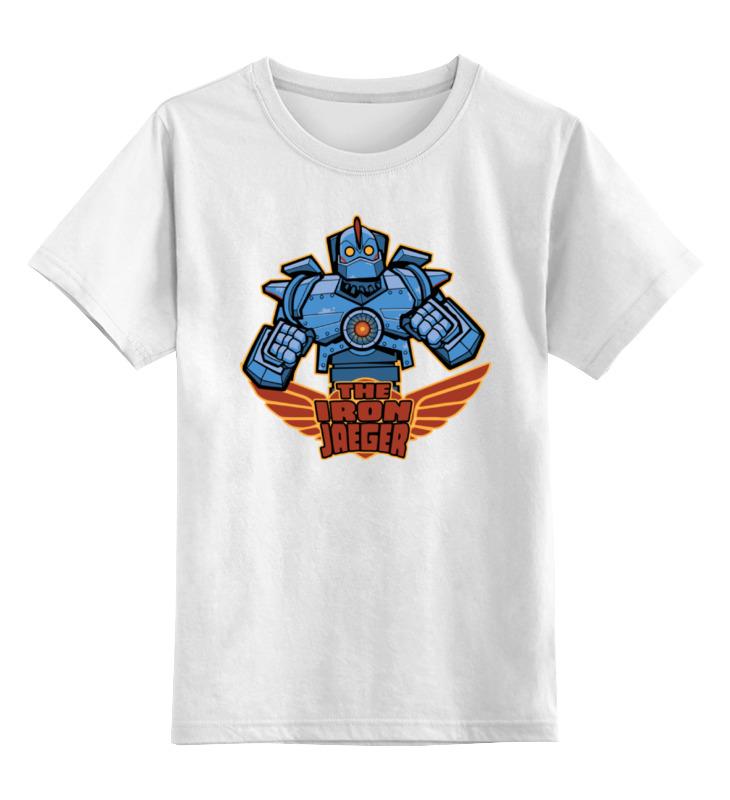 Детская футболка классическая унисекс Printio Стальной гигант saturn st fp1021