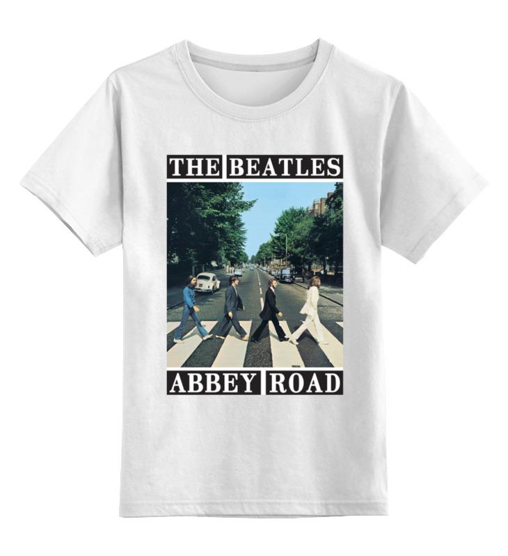 Детская футболка классическая унисекс Printio The beatles