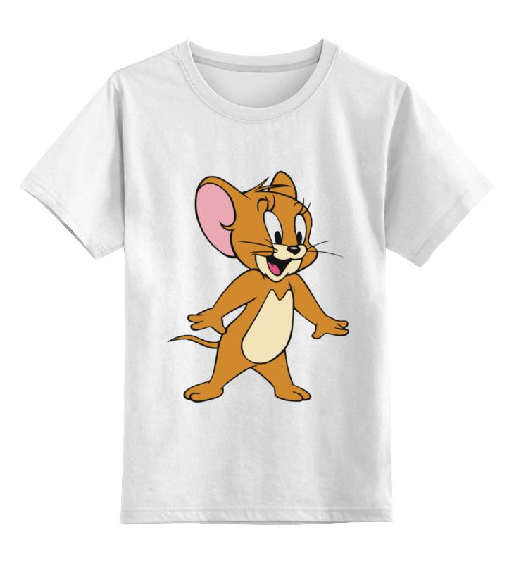 Детская футболка классическая унисекс Printio Jerry цена