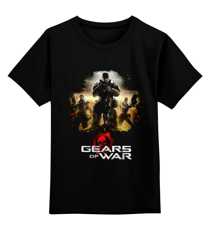 Детская футболка классическая унисекс Printio Gears of war 2 art of war