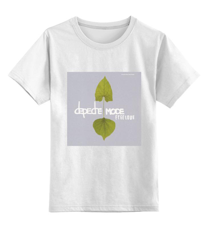 Детская футболка классическая унисекс Printio Depeche mode третий четверг ноября