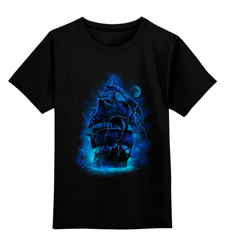 Детская футболка классическая унисекс Printio Пиратский корабль elc корабль пластик пиратский
