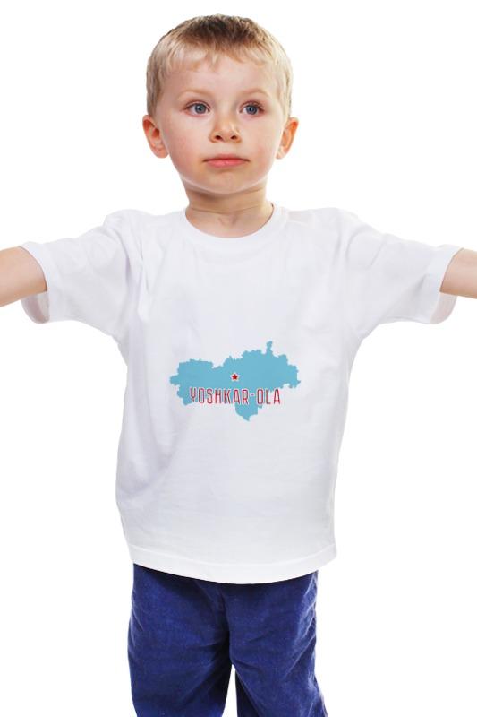 Детская футболка классическая унисекс Printio Республика марий эл. йошкар-ола куплю стекло в йошкар оле 8 мм