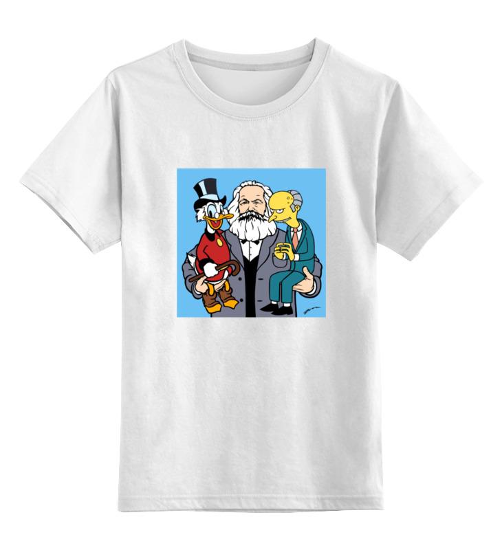 Детская футболка классическая унисекс Printio Капитал