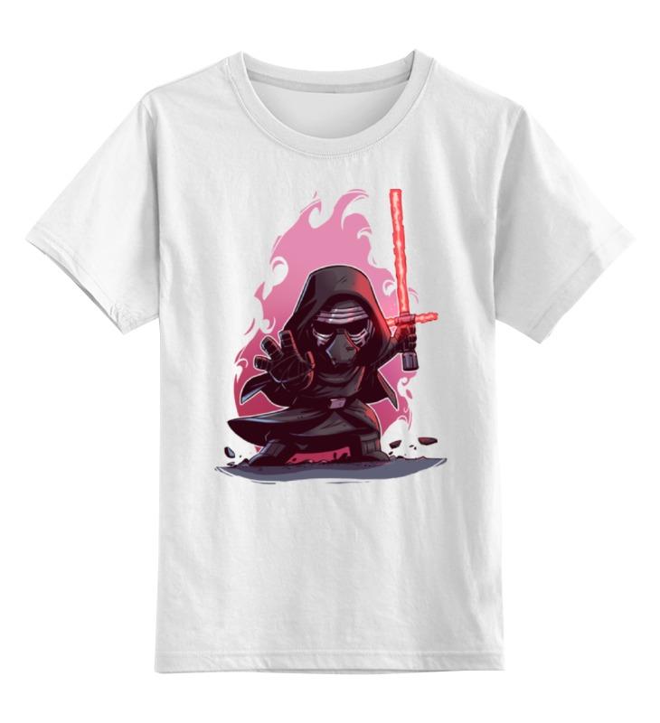 Детская футболка классическая унисекс Printio Звёздные войны / star wars / кайло рен star wars 75104 командный шаттл кайло рена