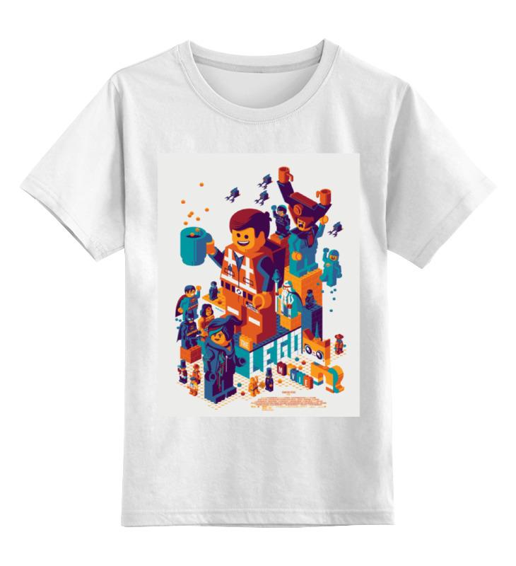 Детская футболка классическая унисекс Printio Lego / лего детская футболка классическая унисекс printio лего lego