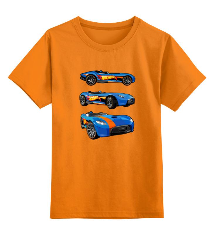 Детская футболка классическая унисекс Printio Гоночные машины