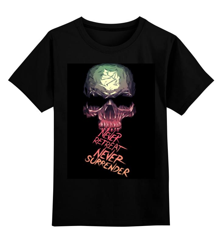 Детская футболка классическая унисекс Printio Skull - 3 детская футболка классическая унисекс printio skull 3