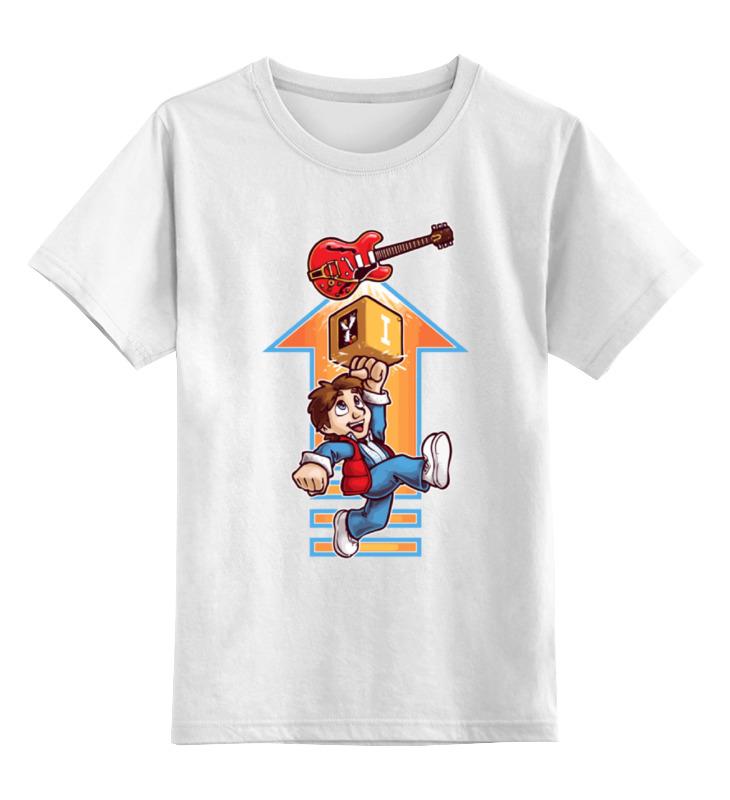 Printio Назад в будущее (back to the future) детская футболка классическая унисекс printio марти макфлай назад в будущее
