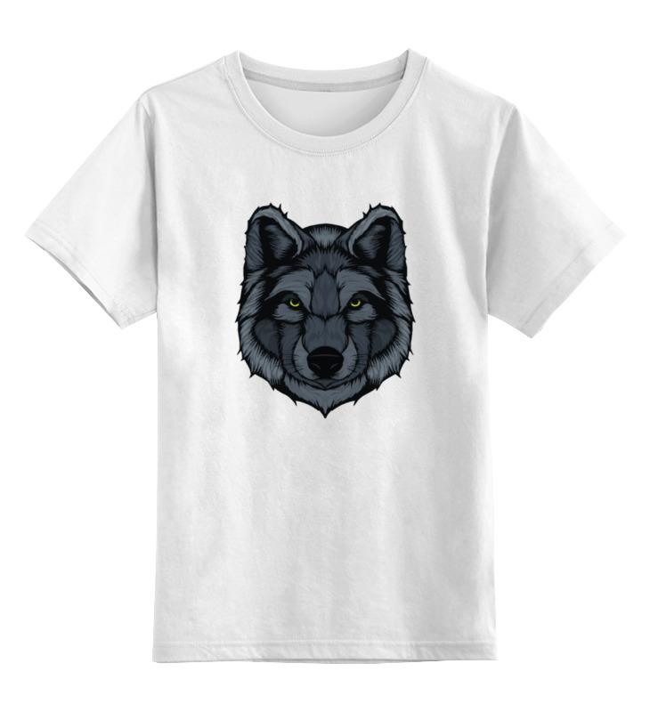 Printio Волк (wolf) детская футболка классическая унисекс printio beautiful wolf