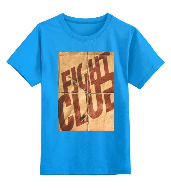 Детская футболка классическая унисекс Printio Fight club / бойцовский клуб футболка рингер printio бойцовский клуб fight club