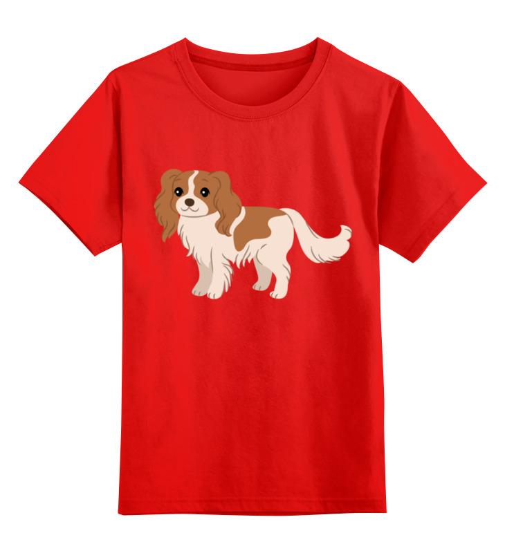 Детская футболка классическая унисекс Printio Собачка smoby детская горка king size цвет красный