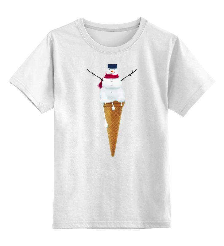 Детская футболка классическая унисекс Printio Снеговик детская футболка классическая унисекс printio снеговик