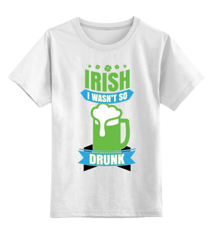 Детская футболка классическая унисекс Printio Ирландец sbart upf50 rashguard 2 bodyboard 1006