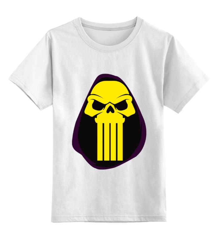 цена на Детская футболка классическая унисекс Printio Скелетон (хи-мен)