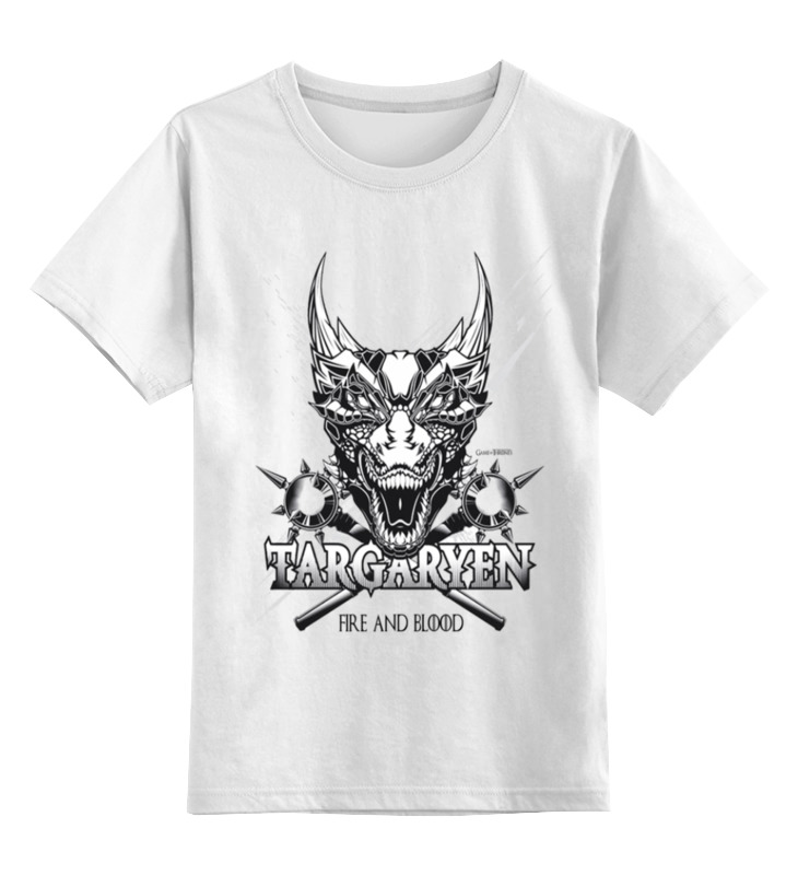 Printio Дракон таргариенов (игра престолов) муж футболка метью р 54