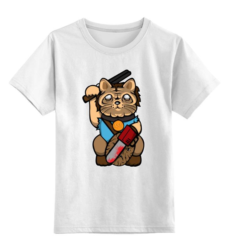 Детская футболка классическая унисекс Printio Манэки-нэко (зловещие мертвецы) футболка evil dead