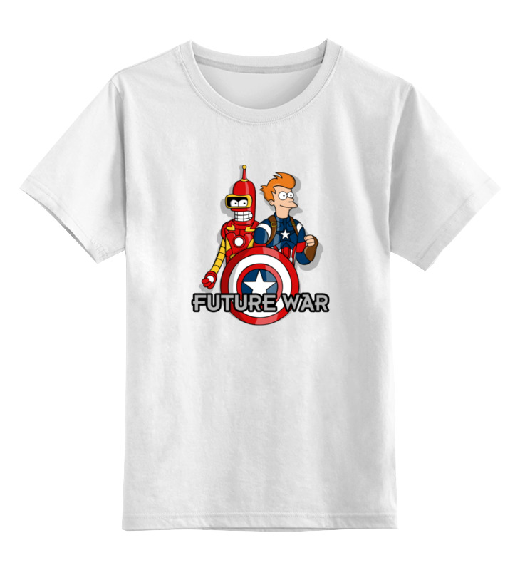 Детская футболка классическая унисекс Printio Футурама (мстители) детская футболка классическая унисекс printio футурама