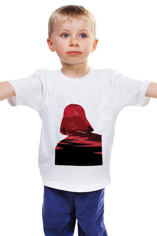 Детская футболка классическая унисекс Printio The story of darth vader sw darth vader cry of shadows