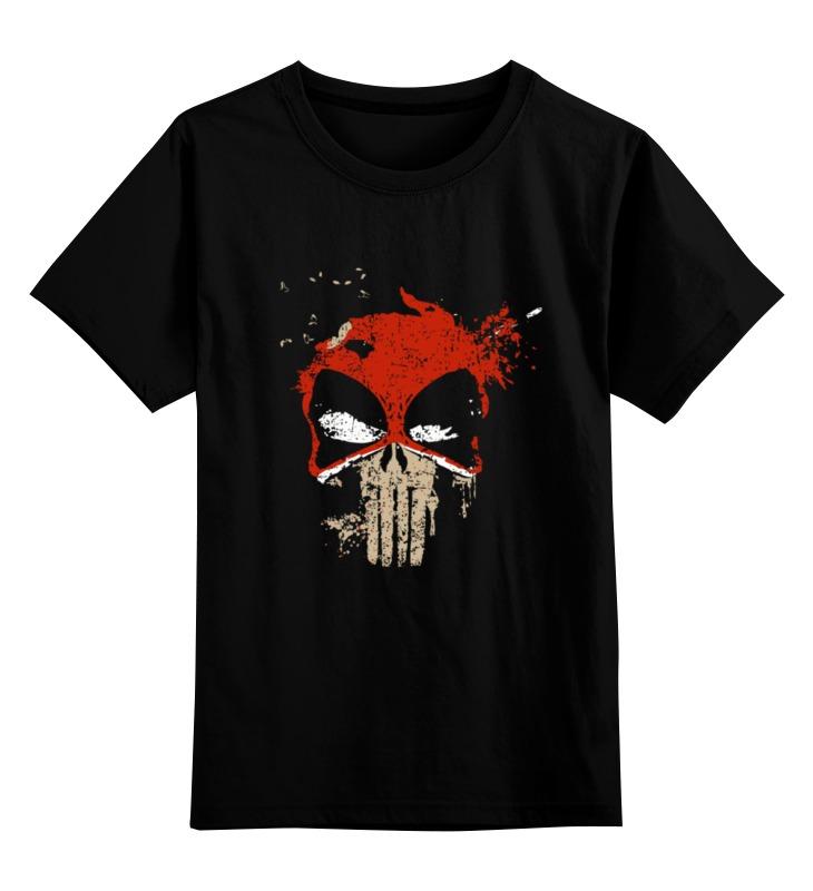 Детская футболка классическая унисекс Printio Deadpool punisher детская футболка классическая унисекс printio мотобайк