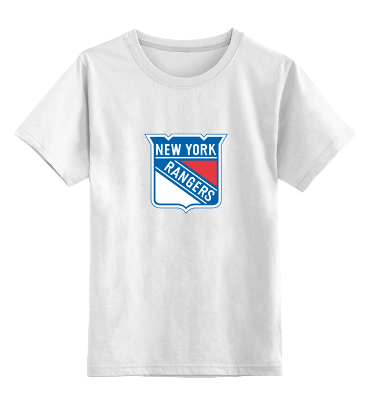 Детская футболка классическая унисекс Printio New york rangers / nhl usa цена и фото