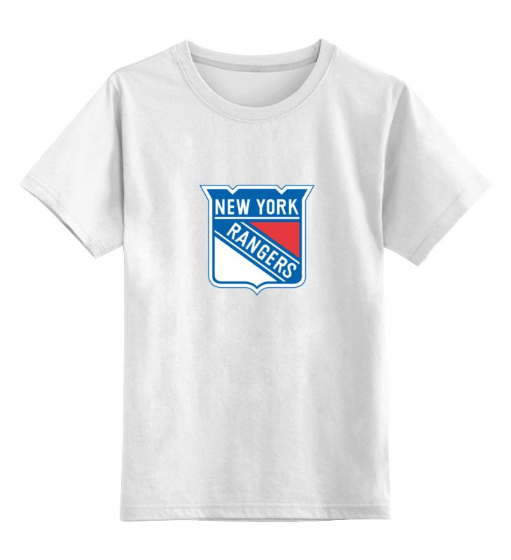 Детская футболка классическая унисекс Printio New york rangers / nhl usa футболка wearcraft premium printio los angeles kings nhl usa