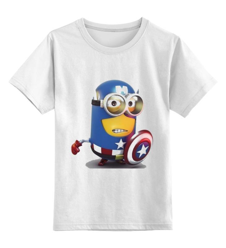 Детская футболка классическая унисекс Printio Супер миньён haba детская шкатулка супер герой