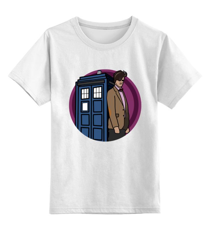 Детская футболка классическая унисекс Printio Доктор кто доктор кинси