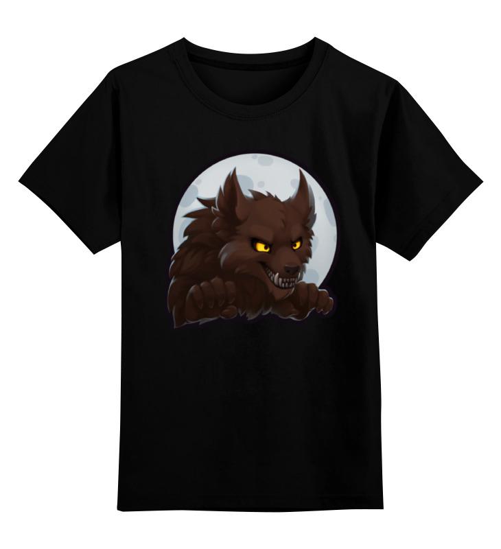 Детская футболка классическая унисекс Printio Werewolf челябинск добро пожаловать